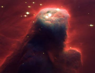 Cone Nebula,  2. April 2002, Hubble Space Telescope